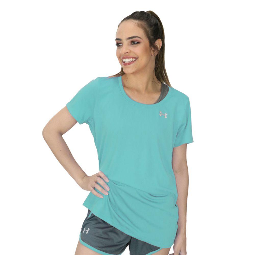 Camiseta Under Armour Tech Ss Feminina