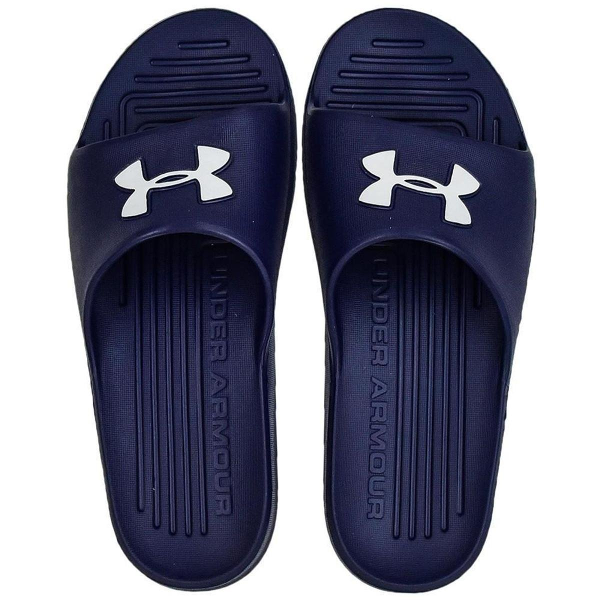Chinelo Under Armour Core Azul