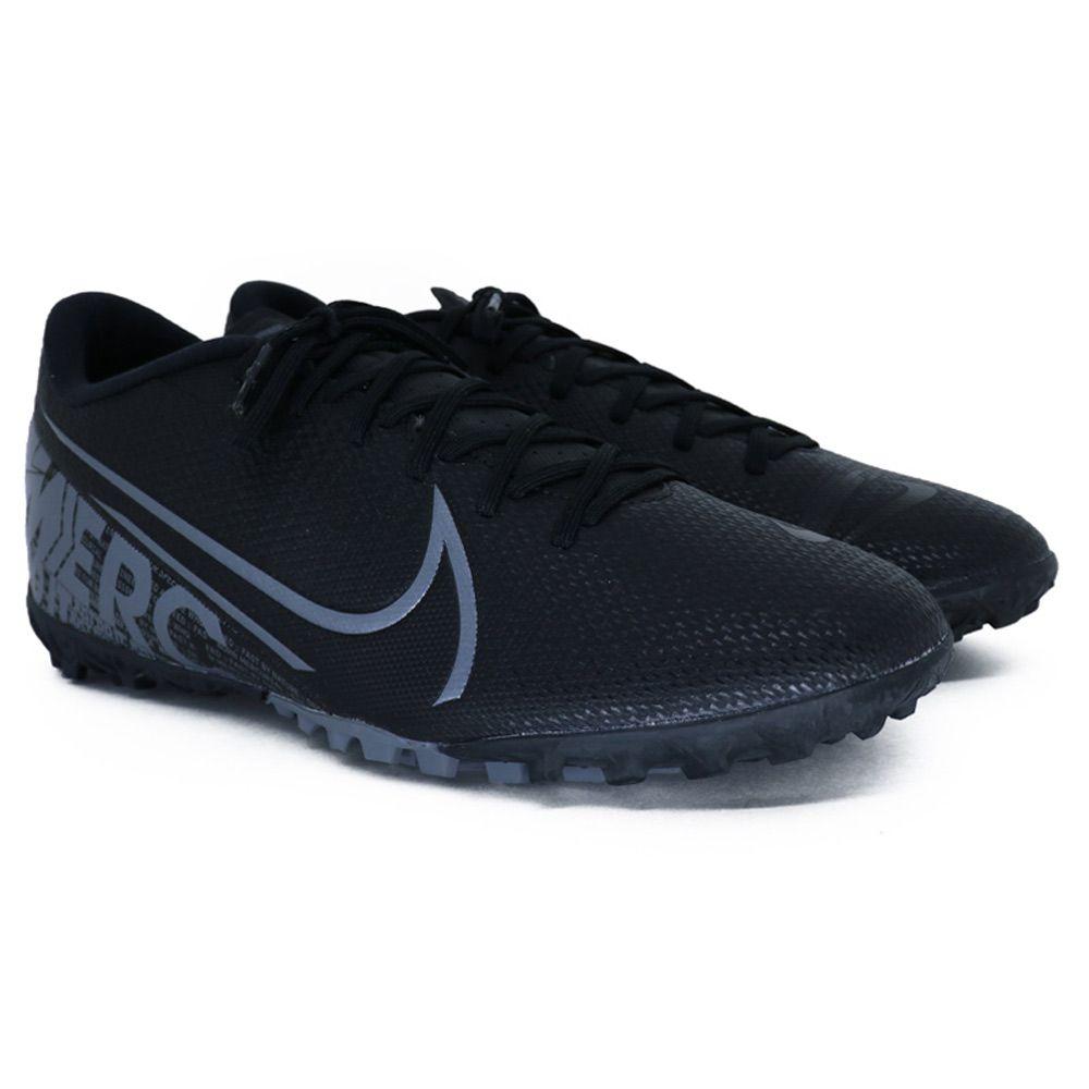 Chuteira Nike Mercurial Vapor 13 Academy Society Preto