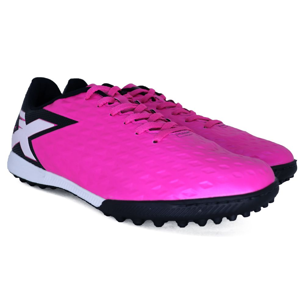 Chuteira Oxn Gênio 3 Society Pro Pink E Preto