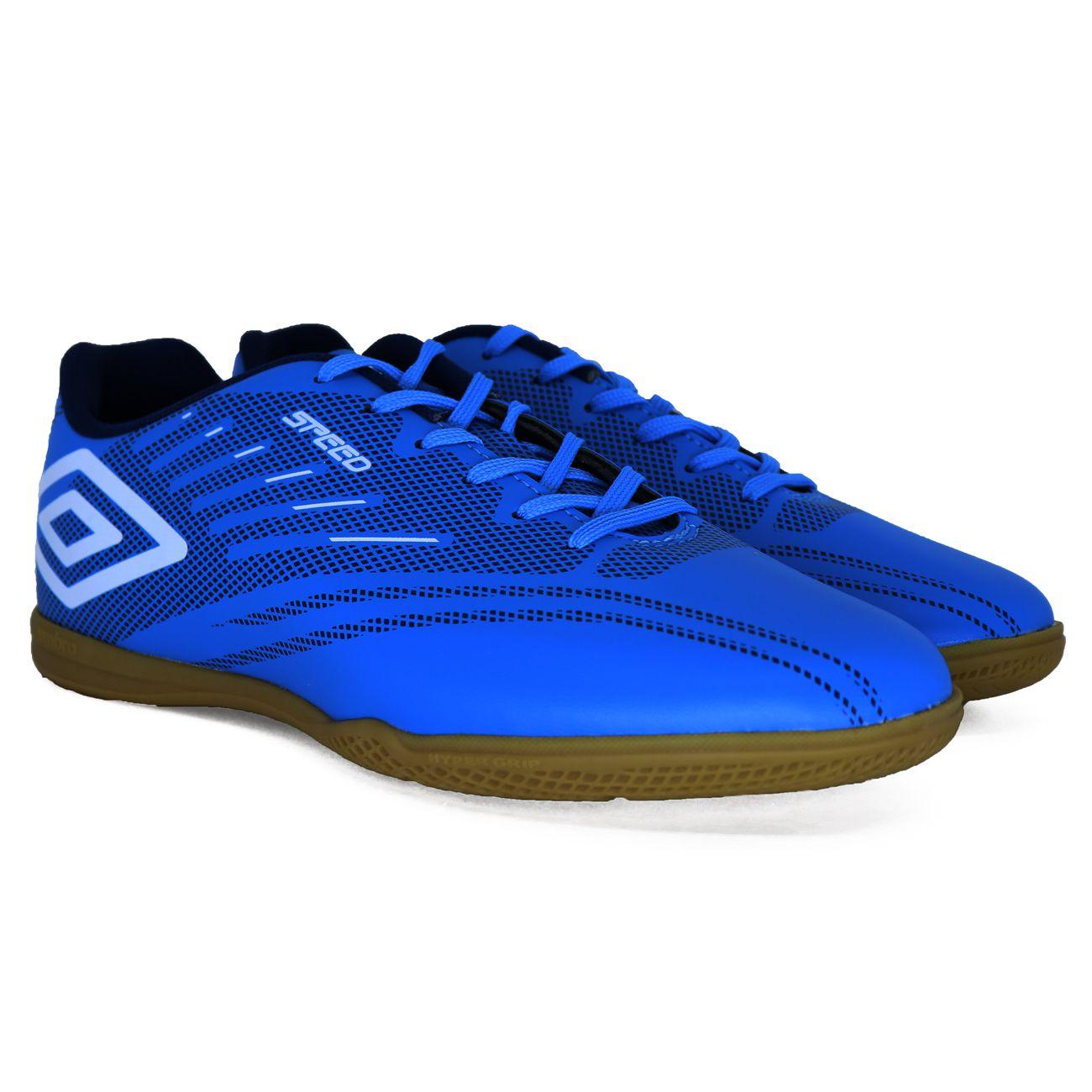 Chuteira Umbro Speed IV Futsal Azul