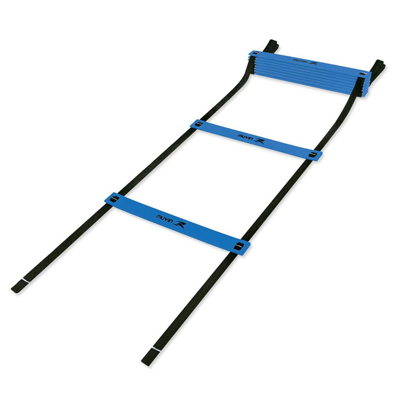 Escada De Agilidade Muvin Preto E Azul