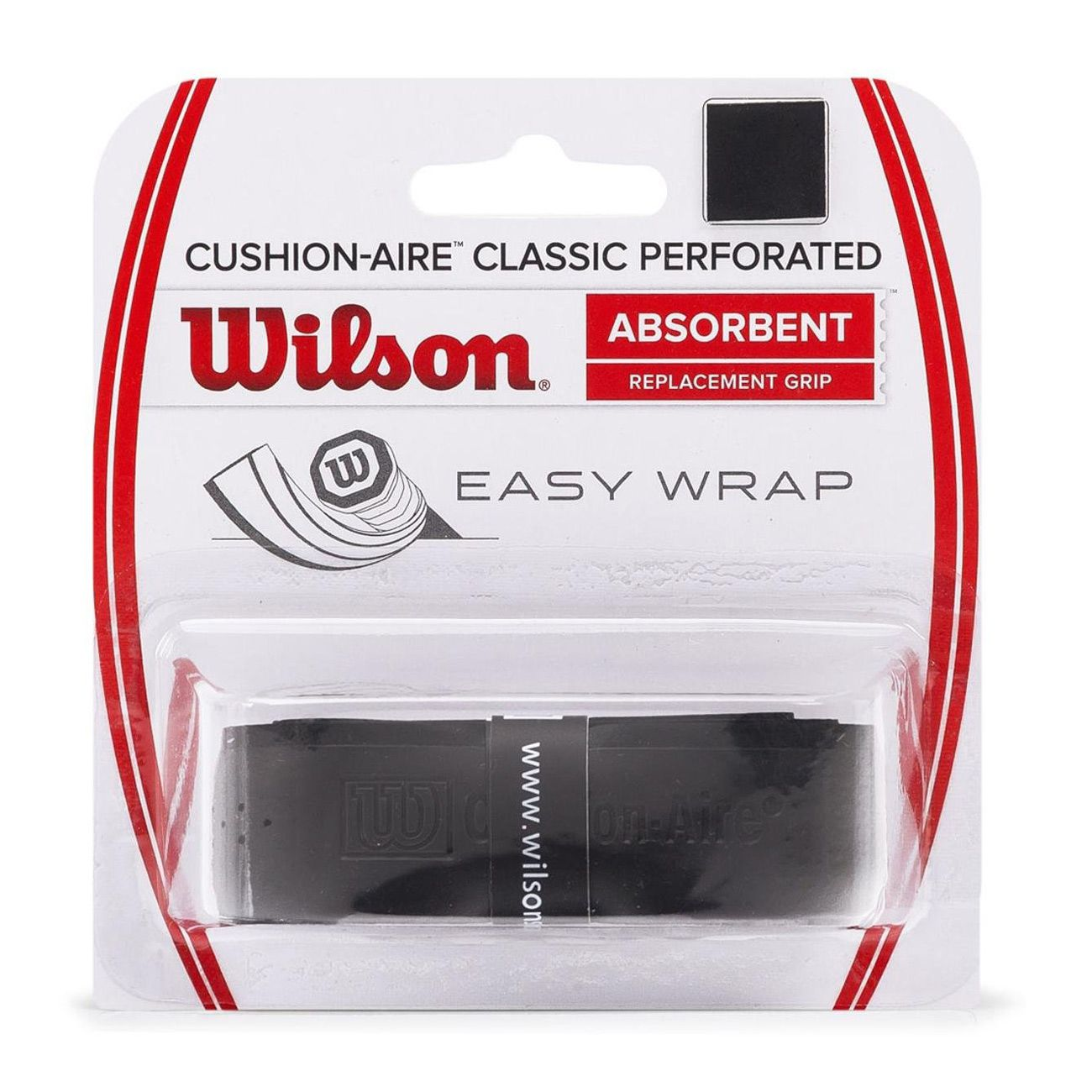 Grip Wilson Cushion-aire Classic Perforated Preto