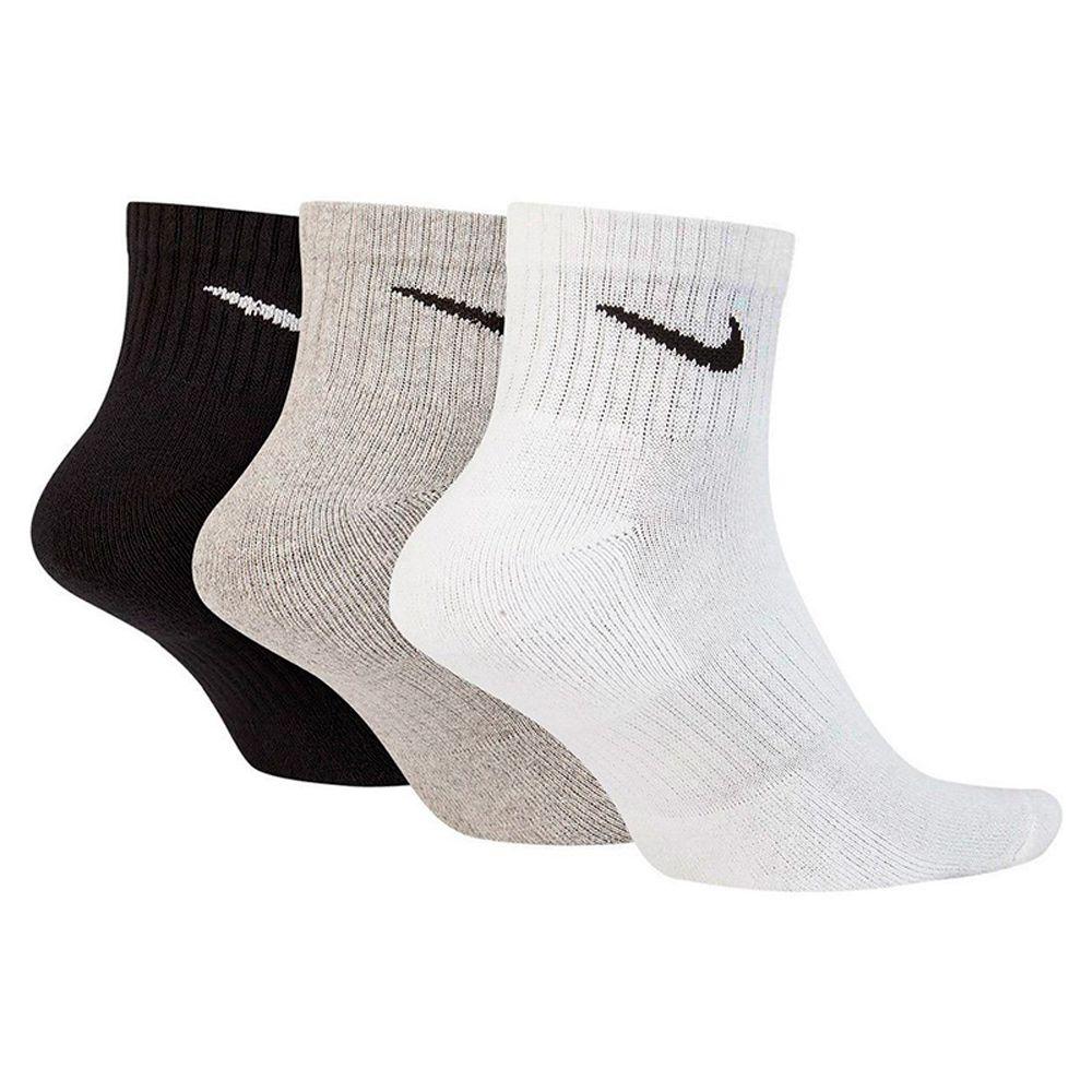 Meia Nike Everyday Cushion Quarter 3 Pares