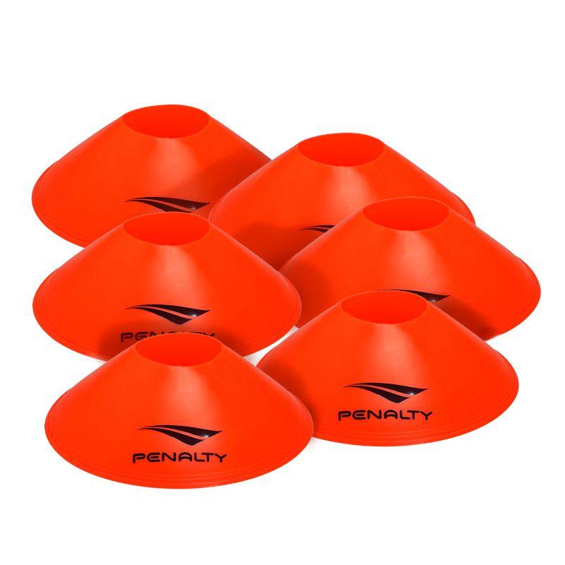 Mini Cone Marker Set Penalty Laranja