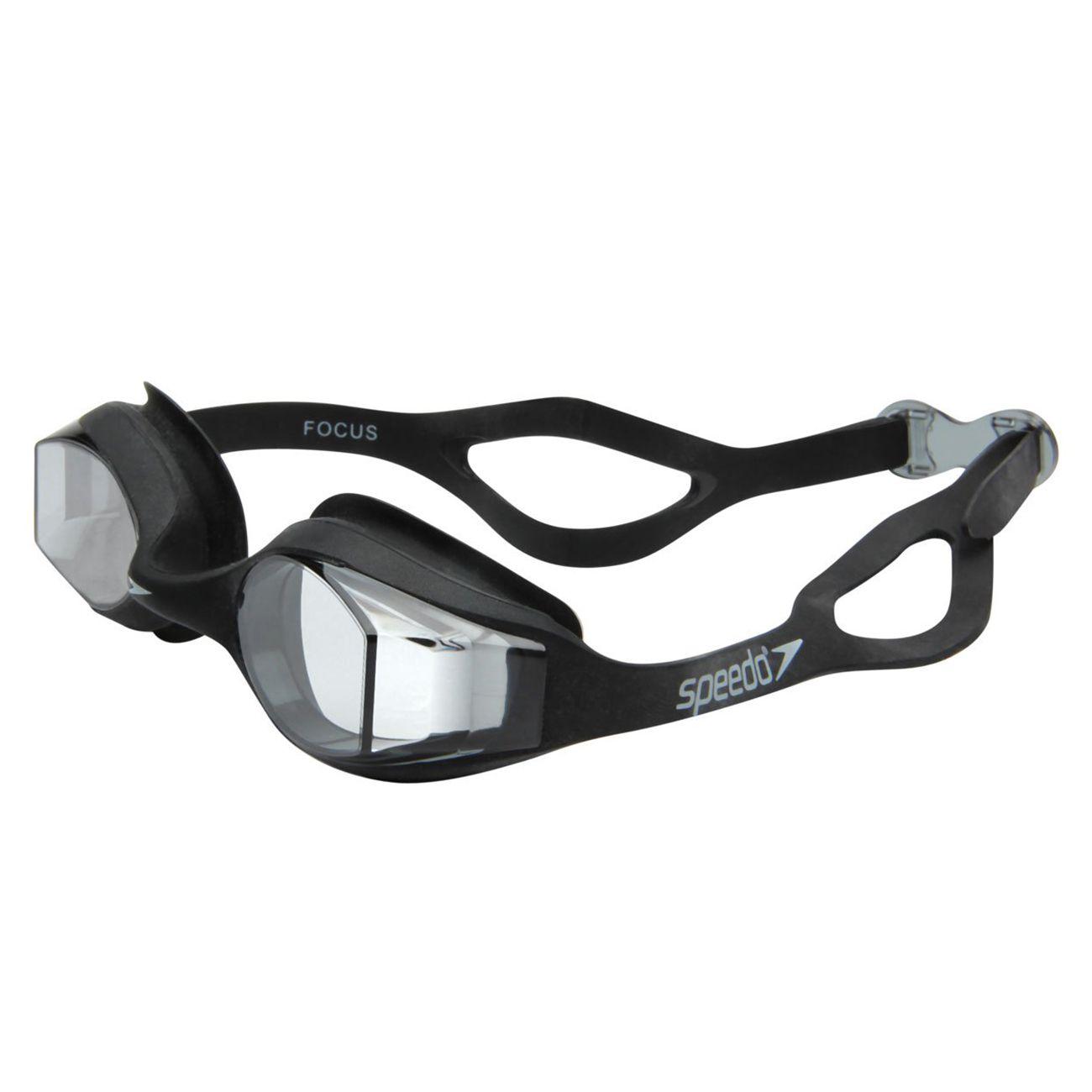 Óculos De Natação Speedo Focus Preto Fume