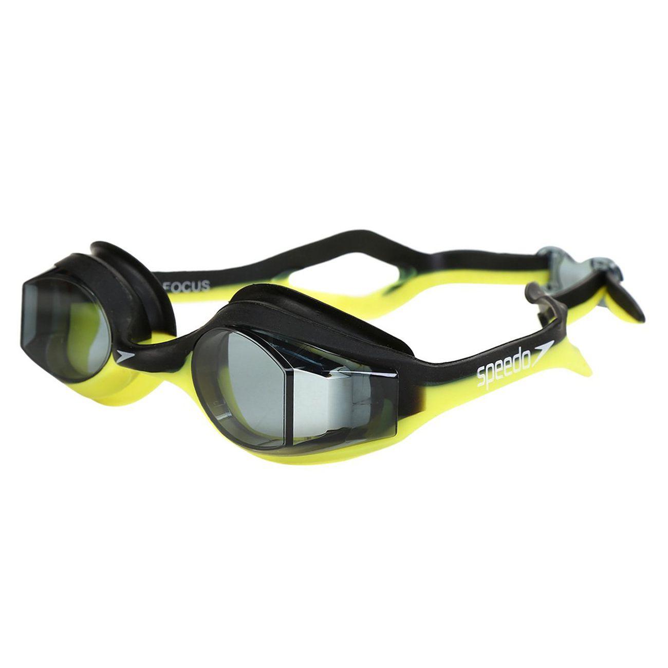 Óculos De Natação Speedo Focus Verde Limão