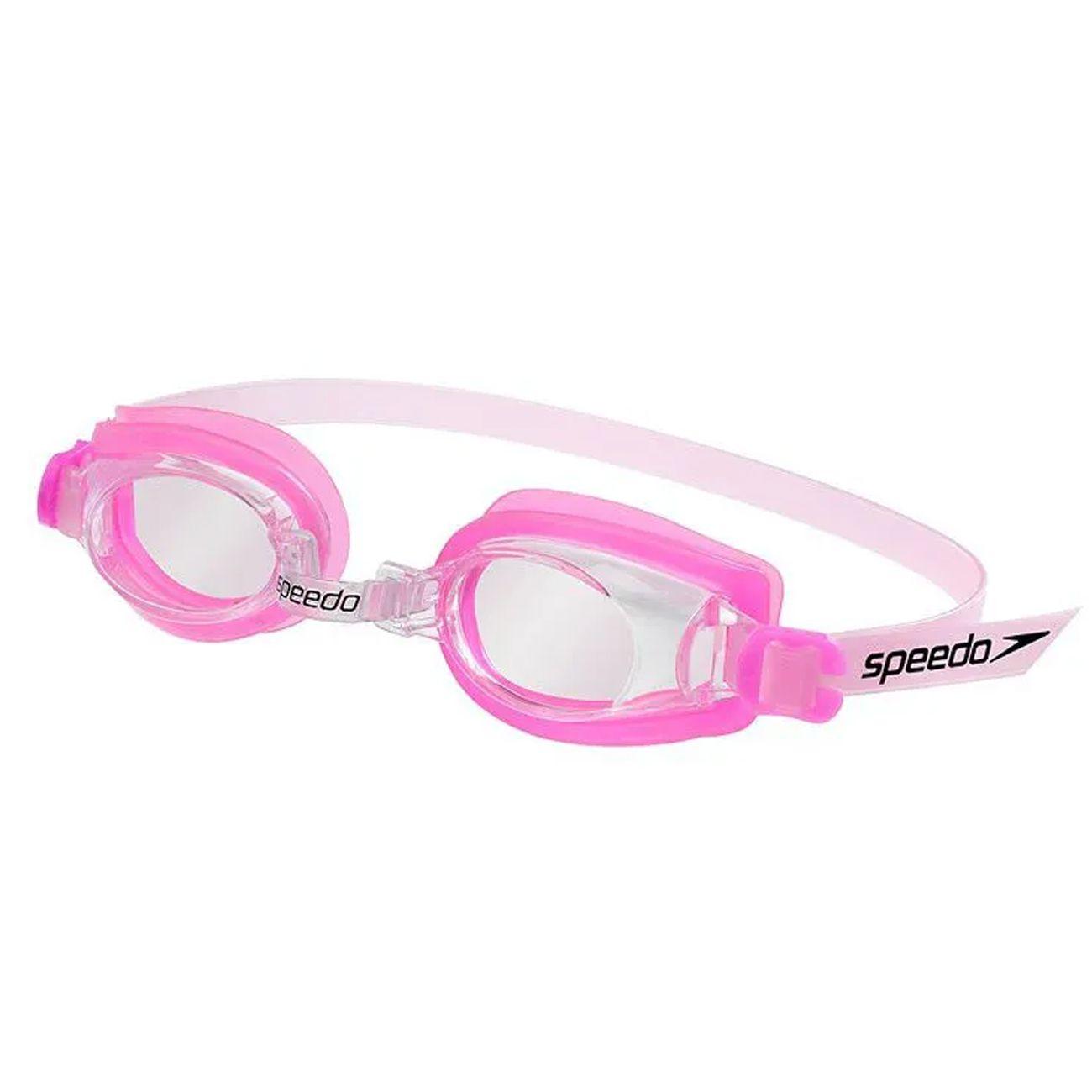 Oculos De Natacao Speedo Jr Captain Rosa Cristal