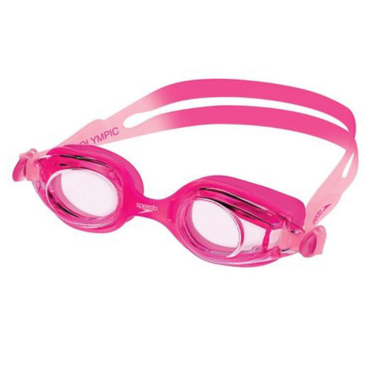 Óculos De Natação Speedo Junior Olympic Rosa