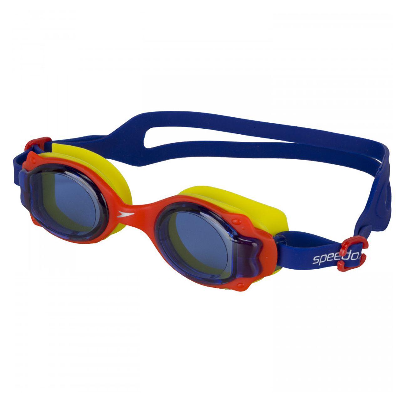 Oculos De Natacao Speedo Lappy Infantil Amarelo E Azul