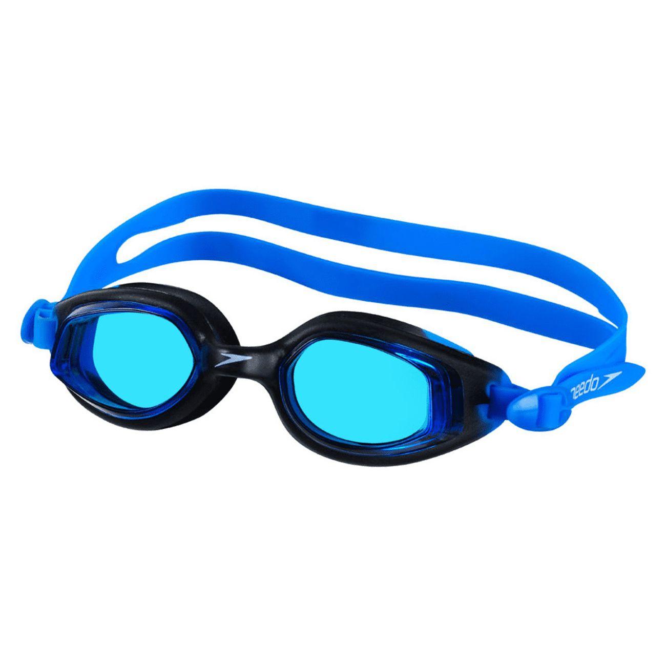 Óculos De Natação Speedo Smart Preto E Azul