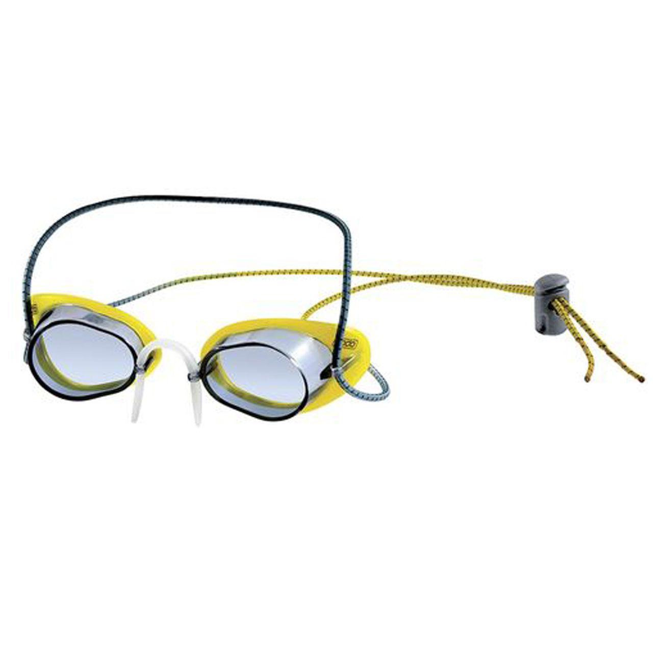 Óculos De Natação Speedo Speed Sueco Amarelo Fume