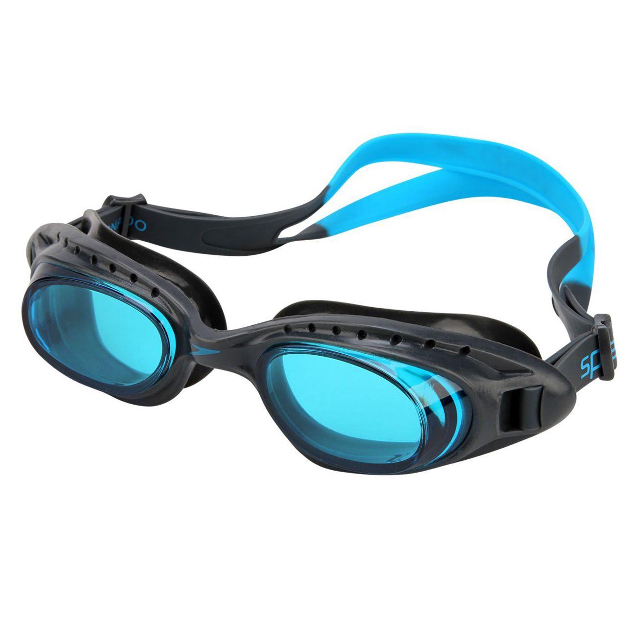 Oculos De Natacao Speedo Tornado Onix E Azul