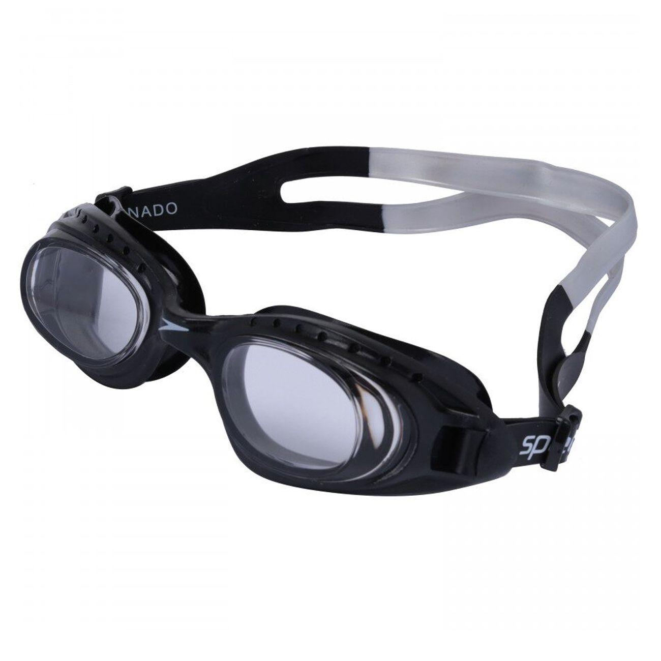 Óculos De Natação Speedo Tornado Preto Cristal