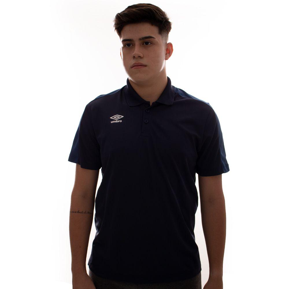 Polo Umbro Twr Training Pro Marinho E Azul