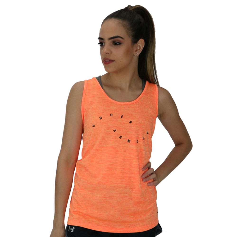 Regata Under Armour Tech Tank Graphic Feminina