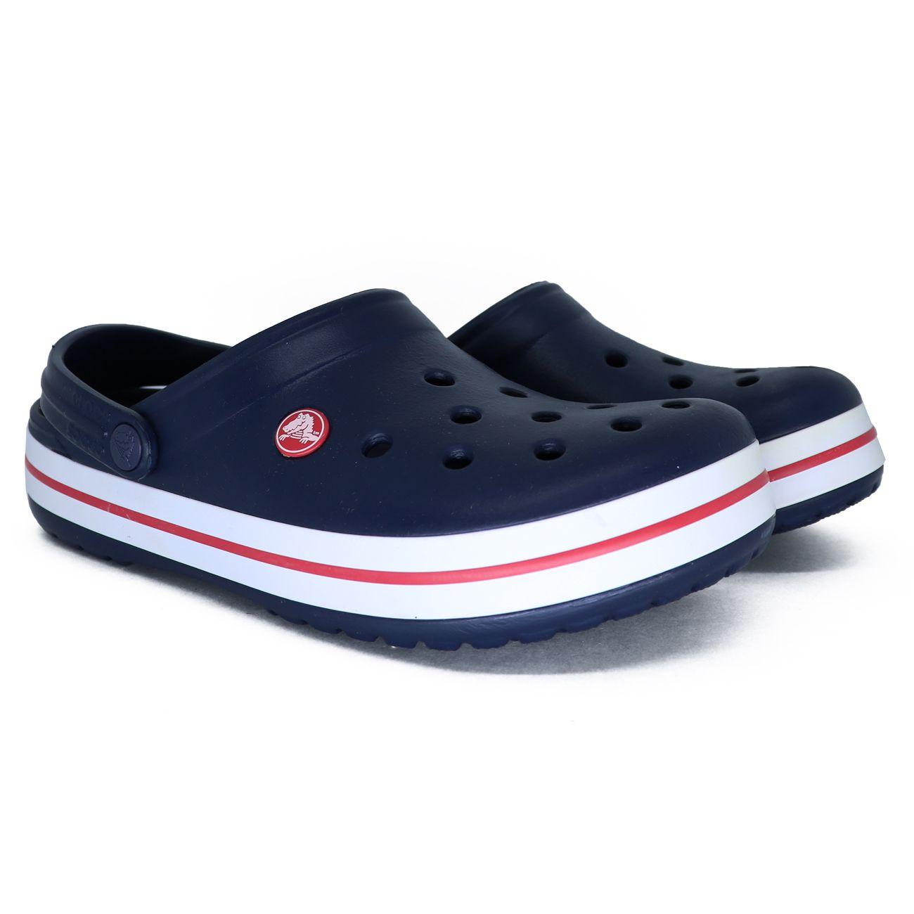 Sandalia Crocs Crocband Infantil Azul