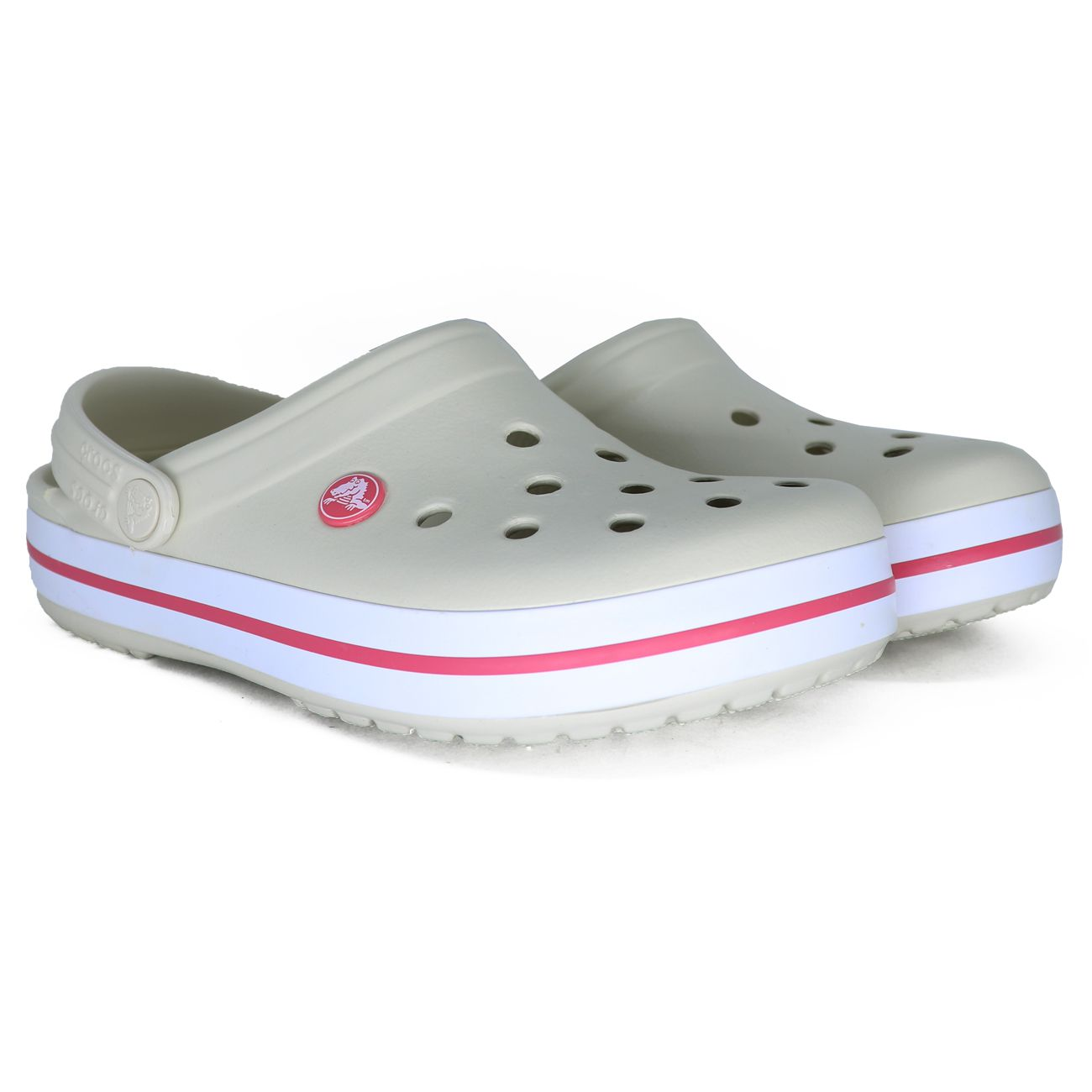Sandalia Crocs Crocband Off White