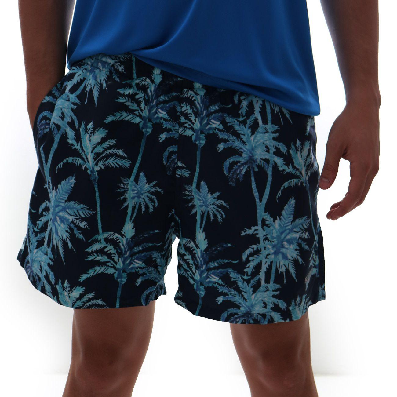 Short Speedo Oahu Estampado Marinho
