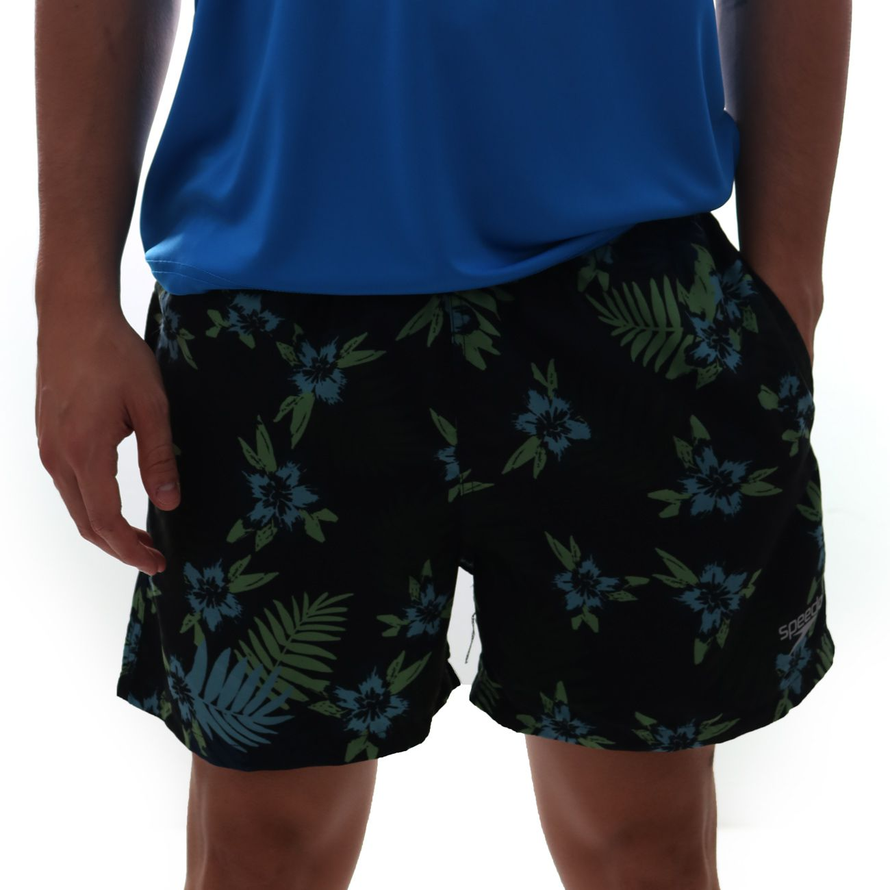 Short Speedo Oahu Estampado Preto