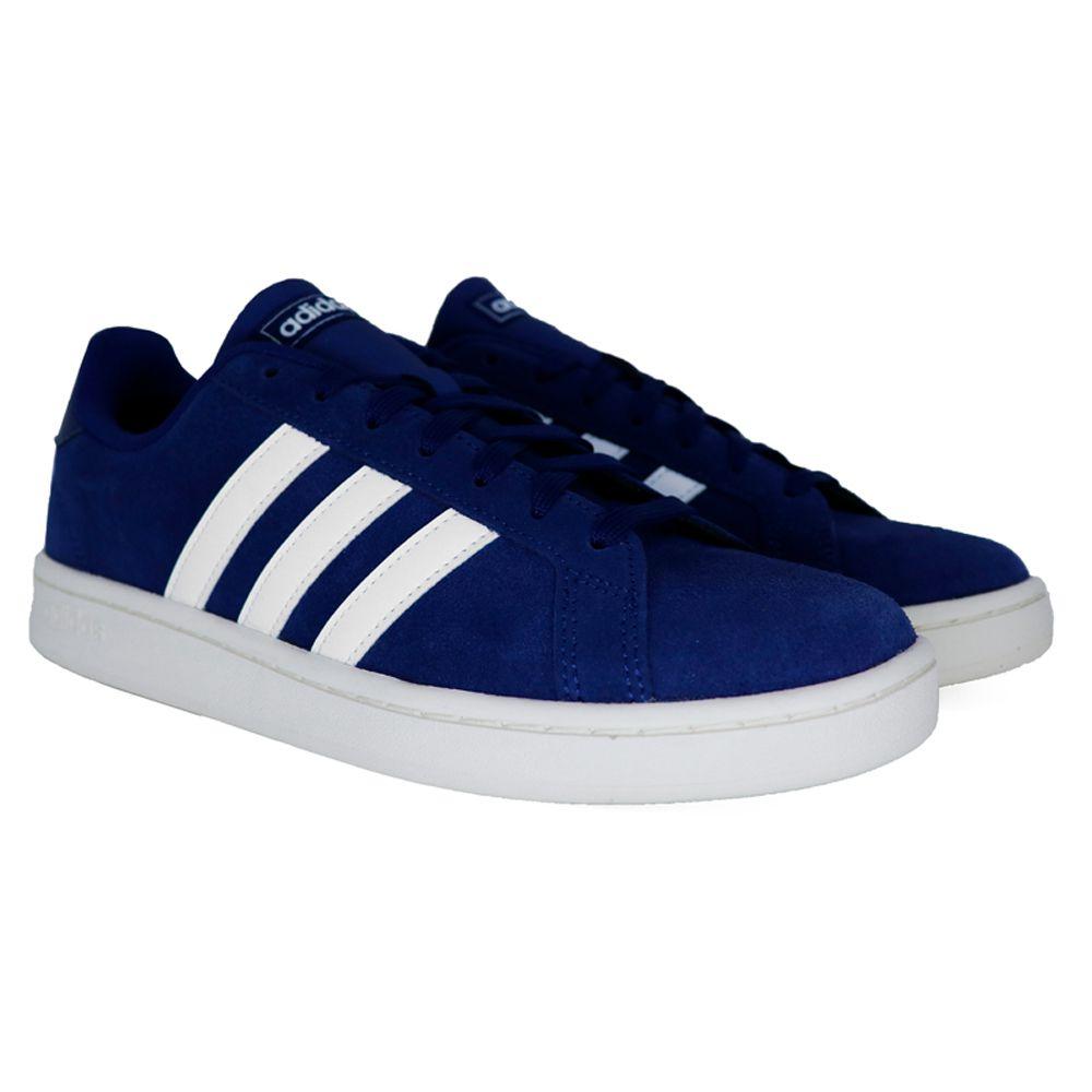 Tênis Adidas Grand Court Azul