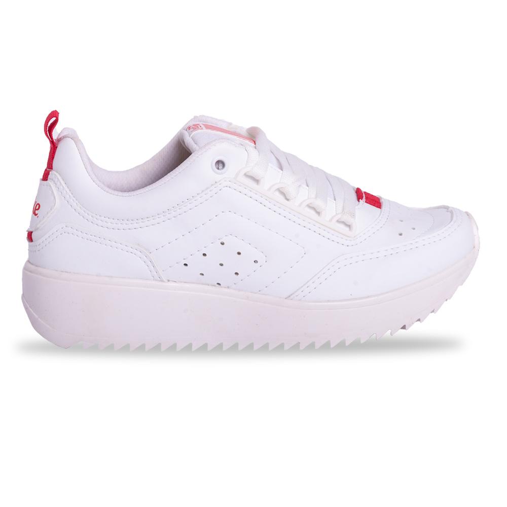 Tênis Coca Cola Moon X58 Feminino Branco E Vermelho