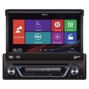 Auto Radio DVD Player Leadership Titanium 5975 4 X 50W Tela Retratil 7 Polegadas