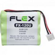 Bateria P/ Telefone sem Fio 3,6 AA 1000MAH FLEX