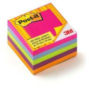 Bloco de Recado POST-IT 654 Tropical 76X76MM 450 FLS