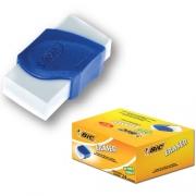 Borracha Branca Eraser Capa Plastica AZUL