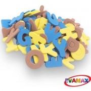 Brinquedo Pedagogico EVA Recortado ABC+VOG GD 31PC 5CM
