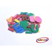 Brinquedo Pedagogico EVA Recortado Vogais 60PC 3CM