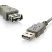 Cabo USB Extensor  1,80M USB 2.0
