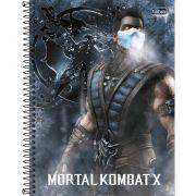 Caderno 10X1 Capa Dura 2019 Mortal Kombat 160FLS.