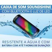 Caixa Acustica Mini Portatil C/BLUETOOTH/LED