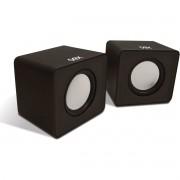 Caixa Acustica para Computador Speaker Cube 3W RMS USB/P2 PT