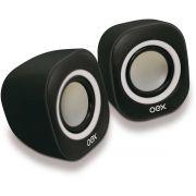 Caixa Acustica para Computador Speaker Round 8W USB/P2 PT/BR
