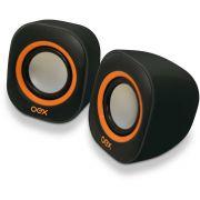 Caixa Acustica para Computador Speaker Round 8W USB/P2 PT/LJ