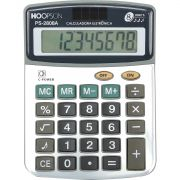 Calculadora de Bolso 8DIGITOS BATERIA/SOLAR Prata