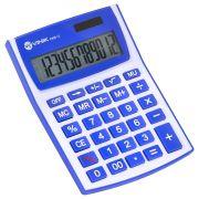 Calculadora de Mesa 12 Digitos com Alimentacao Solar ou a Pilha - CM30 BRANCA/AZUL