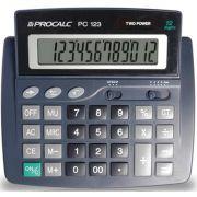 Calculadora de Mesa 12DIG.VISOR INCL. MOD.PC123