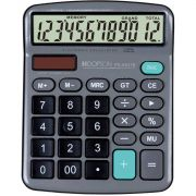 Calculadora de Mesa 12DIGITOS BAT/SOLAR Cinza