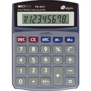 Calculadora de Mesa 8DIGITOS Bateria Cinza