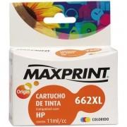 Cartucho Compativel HP 662XL CZ106A Colorido