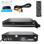 DVD Player Multimidia USB Mais Controle KP-D120 KP-D120 KNUP