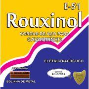 Encordoamento P/CAVAQUINHO ELETRICO/ACUSTICO
