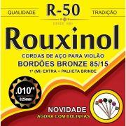 Encordoamento P/VIOLAO ACO Bronze 85/15 C/BO