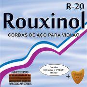 Encordoamento P/VIOLAO ACO INOX C/BOLINHA