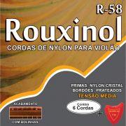 Encordoamento P/VIOLAO NYLON CR/PRAT.C/BOLIN
