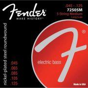 Encordoamento para Contrabaixo 5 Cordas ACO 0.045 72505M Niquelado Fender